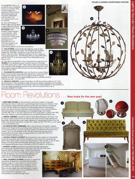 House & Garden Magazine  Room Revolutions Feb 15