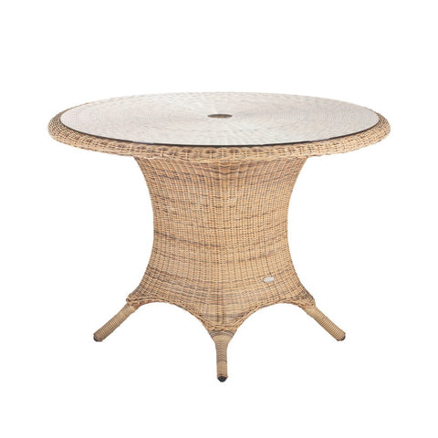 Cozy Bay® Panama Rattan 4 Seater Dining Table in 4 Seasons