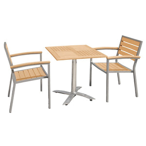 Cozy Bay® Syn-Teak™ 2 Seater Tea for Two Set in Teak Asian