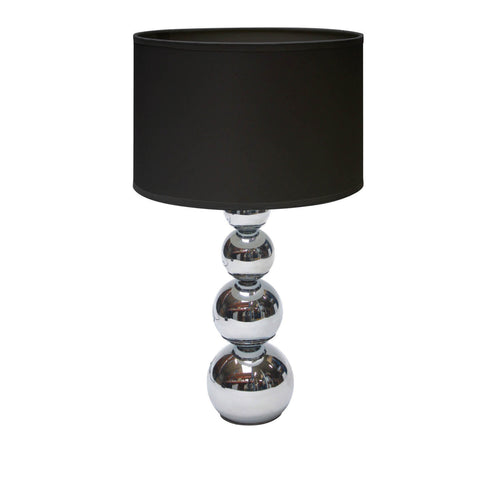 Black Cameo Table Lamp - - Lamps by Premier available from Harley & Lola