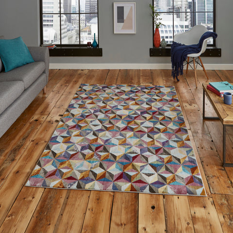 Think Rugs 16th Avenue Geometric