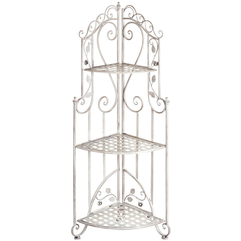 Rose 3 Tier Corner Shelf Unit - - Garden & Conservatory by WDS4U available from Harley & Lola