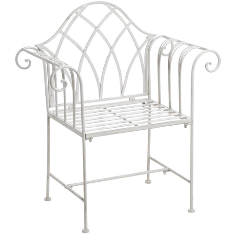 Rose White Garden Seat - - Garden & Conservatory by WDS4U available from Harley & Lola - 1