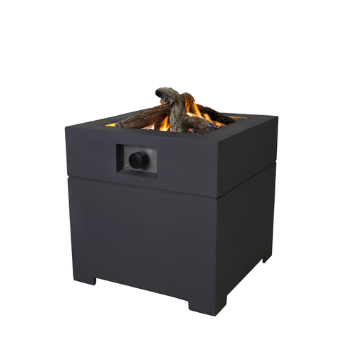 Pacific Lifestyle Cosiconcrete Square Fire Pit 60
