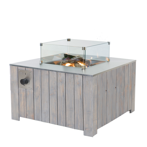 Pacific Lifestyle Cosiglass Set Square Fire Pit