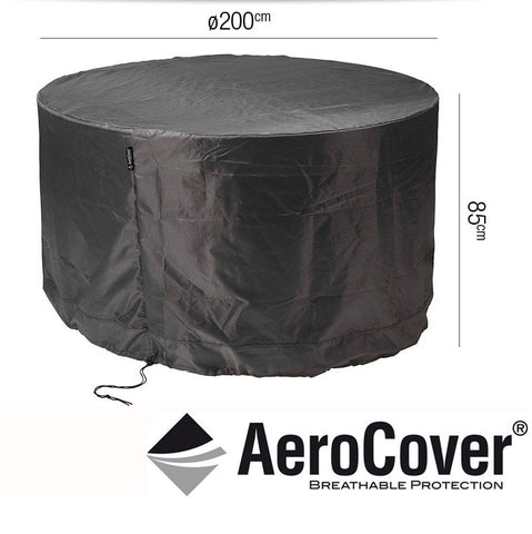 Garden Set Cover Round 200 x 85cm -Garden Set Cover Round 200 x 85cm high - Garden & Conservatory by Pacific available from Harley & Lola