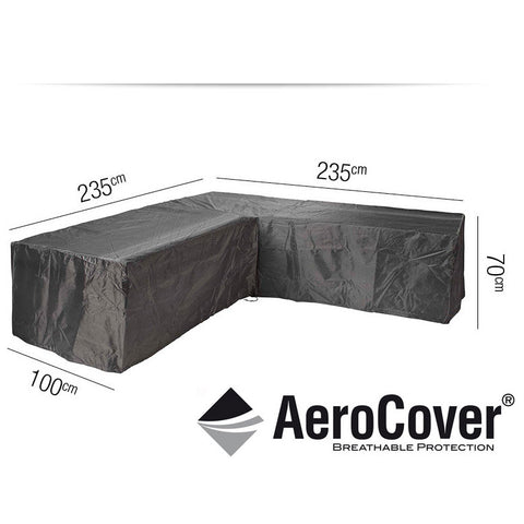 Lounge Set Cover L-Shape 235 x 235 x 100 x 70cm -Lounge Set Cover L-Shape 235 x 235 x 100 x 70cm - Garden & Conservatory by Pacific available from Harley & Lola