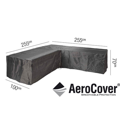 Lounge Set Cover L-Shape 255 x 255 x 100 x 70cm -Lounge Set Cover L-Shape 255 x 255 x 100 x 70cm - Garden & Conservatory by Pacific available from Harley & Lola