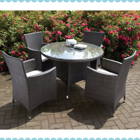 Naples 4 Seater Dining Set