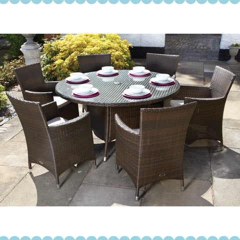 Naples 6 Seater Dining Set