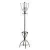 New York Loft Coat Stand With Umbrella Stand -Black - Living Room by Premier available from Harley & Lola - 1