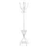 New York Loft Coat Stand With Umbrella Stand -White - Living Room by Premier available from Harley & Lola - 2