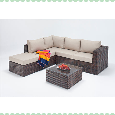 Port Royal Windsor Small Corner Sofa Left
