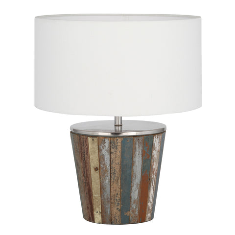 Reclaimed Wood Tapered Lamp - - Lamps by Pacific available from Harley & Lola