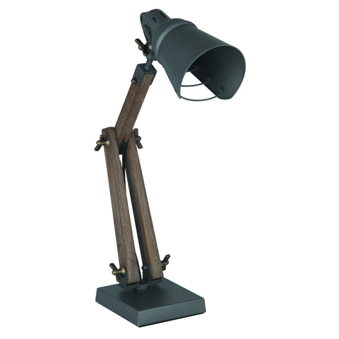 Wood/Metal Table Task Lamp - - Lamps by Pacific available from Harley & Lola