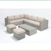 Port Royal Luxe Rustic Large Corner Sofa Left