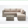 Port Royal Luxe Rustic Small Corner Sofa Right