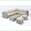 Port Royal Luxe Rustic Large Corner Sofa Right