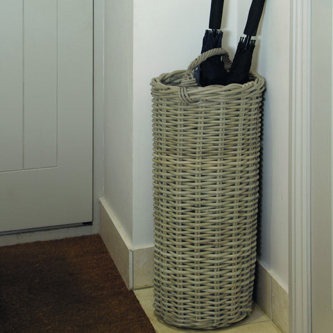 Grey Kubu Umbrella Basket -Grey Kubu Umbrella Basket - Storage by Pacific available from Harley & Lola