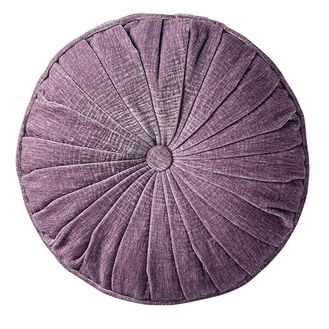 Solaris Round Cushion -Heather - Soft Furnishings by Gallery available from Harley & Lola - 1