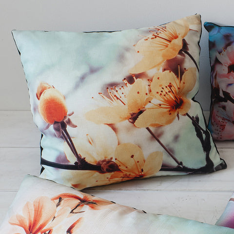 Floral Square Cushion