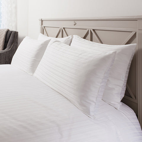 Orla White Quilt Cover Set