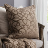 Classic Elsa Cushion -Taupe - Soft Furnishings by Gallery available from Harley & Lola - 3