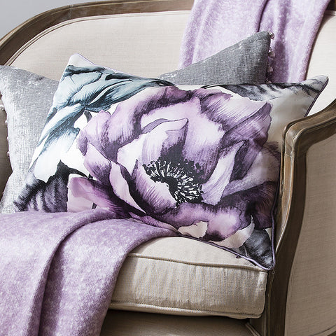 Lotus Cushion -Heather - Soft Furnishings by Gallery available from Harley & Lola - 1