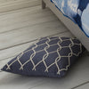 Rope Design Cushion -Blue - Soft Furnishings by Gallery available from Harley & Lola - 2