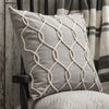 Rope Design Cushion -Grey - Soft Furnishings by Gallery available from Harley & Lola - 3