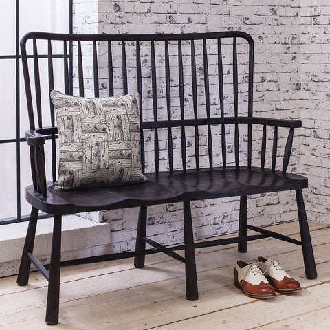 Wycombe Parlour Seat Charcoal - - Furniture by Gallery available from Harley & Lola