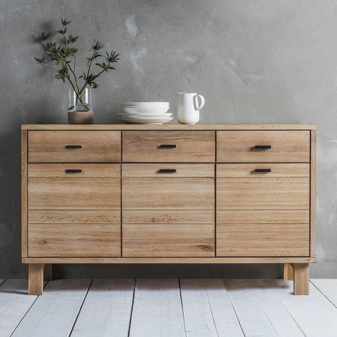 Kielder Sideboard 3 Doors 3 Drawers - - Furniture by Gallery available from Harley & Lola - 1