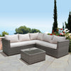 Classic 4 Piece Rattan Corner Set - - Garden & Conservatory by Brundle Garden available from Harley & Lola - 2