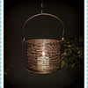 Antique Copper Round Basket Lantern -Large - Garden & Conservatory by Petti Rossi available from Harley & Lola - 2