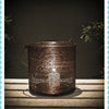 Antique Copper Round Basket Lantern -Small - Garden & Conservatory by Petti Rossi available from Harley & Lola - 1