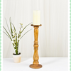 Wooden Candle Stand by Harley and Lola