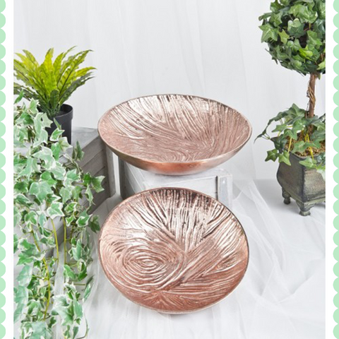 Finish Bowl Set of 2 by Harley and Lola