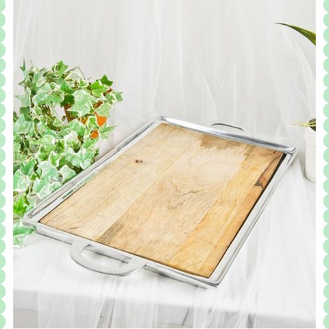 Mango Wood Rectangle Tray