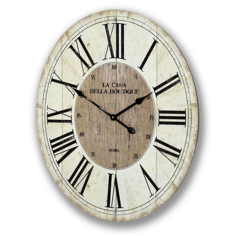 La Casa Bella Boutique Clock - - Plaque by WDS4U available from Harley & Lola