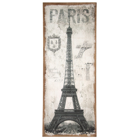 Paris Wall Canvas - - Accessories by Pacific available from Harley & Lola