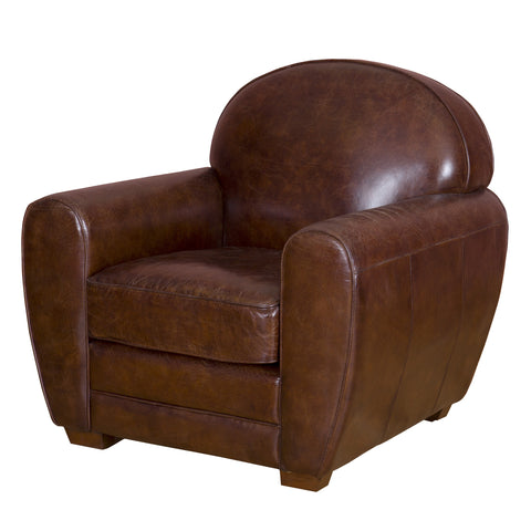 Explorer One Seater Leather Chair