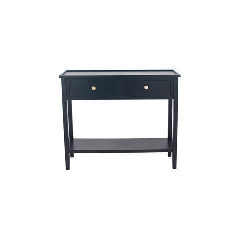 Pacific Lifestyle Pine Wood 2 Drawer Console Table K/D