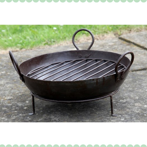 Karahi Small Bowl & Stand - - Garden & Conservatory by Petti Rossi available from Harley & Lola