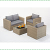 Port Royal Rural Small Sofa Set