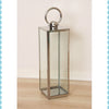 Square Hurricane Lantern -Medium - Garden & Conservatory by Petti Rossi available from Harley & Lola - 2