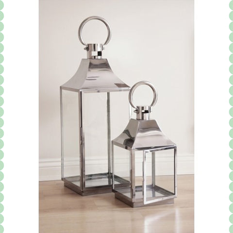 Pagoda Hurricane Lantern Set - - Garden & Conservatory by Petti Rossi available from Harley & Lola