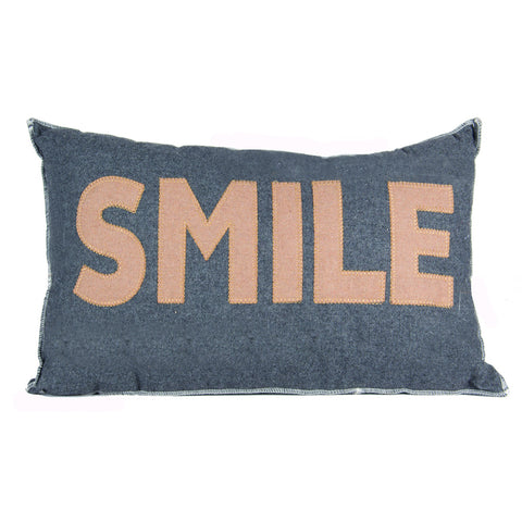 Smile Design Oblong Cushion - - Soft Furnishings by Pacific available from Harley & Lola