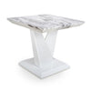 Saturn Marble Effect Top Lamp Table