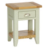 Rustic Bedside Table -French Grey - Living Room by Besp-Oak available from Harley & Lola - 2