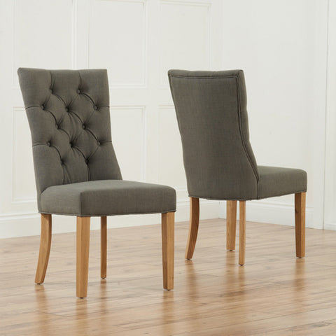 Mark Harris Albury Oak Dining Chairs (Pair)